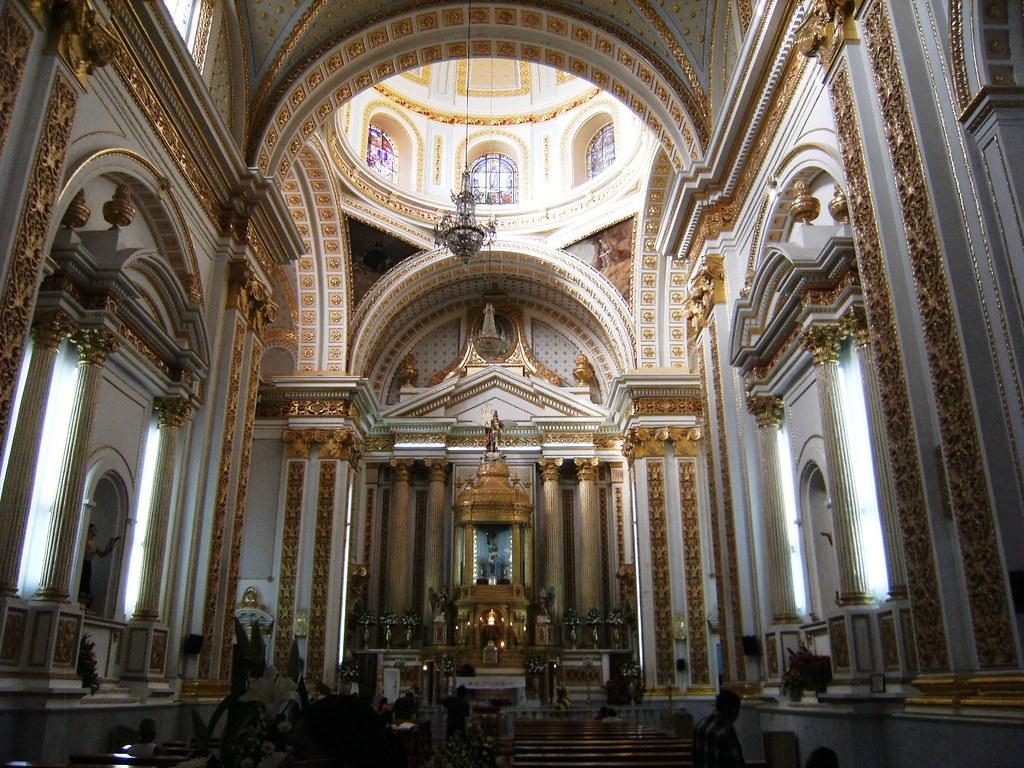 Santuario Nuestro Seor de Chalma Interiores MalinalcoE