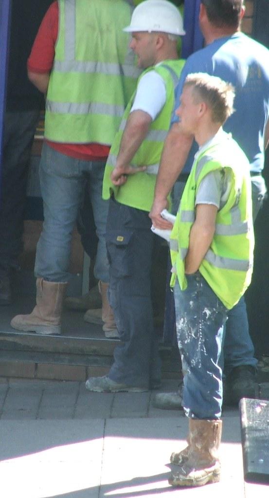Rigger boots riggers hiviz workie workmen labourer builder