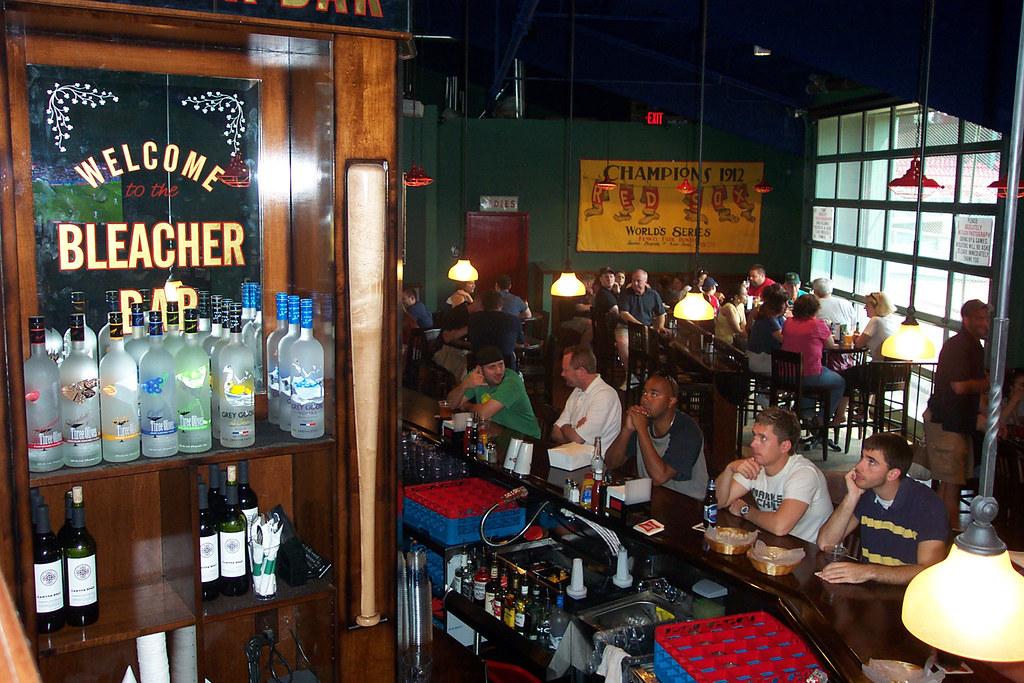 inside the Bleacher Bar  Fenway Park 4  Fenway Parks    Flickr