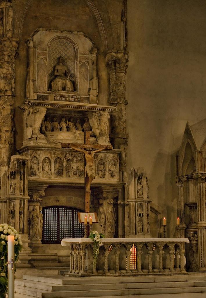 Napoli Chiesa di Santa Chiara altare  Il complesso di SCh  Flickr