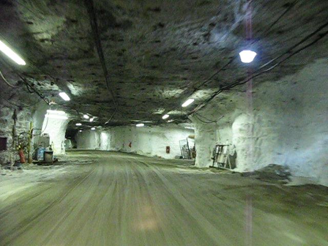 Morton Salt Fairport Mine Underground Office  Underground