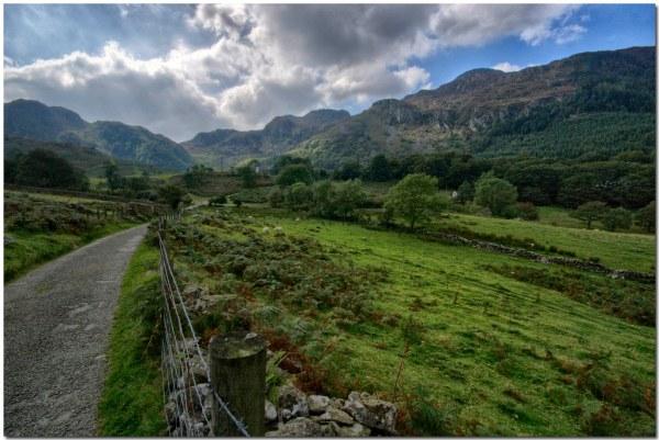 north wales landscape llyn crafnant