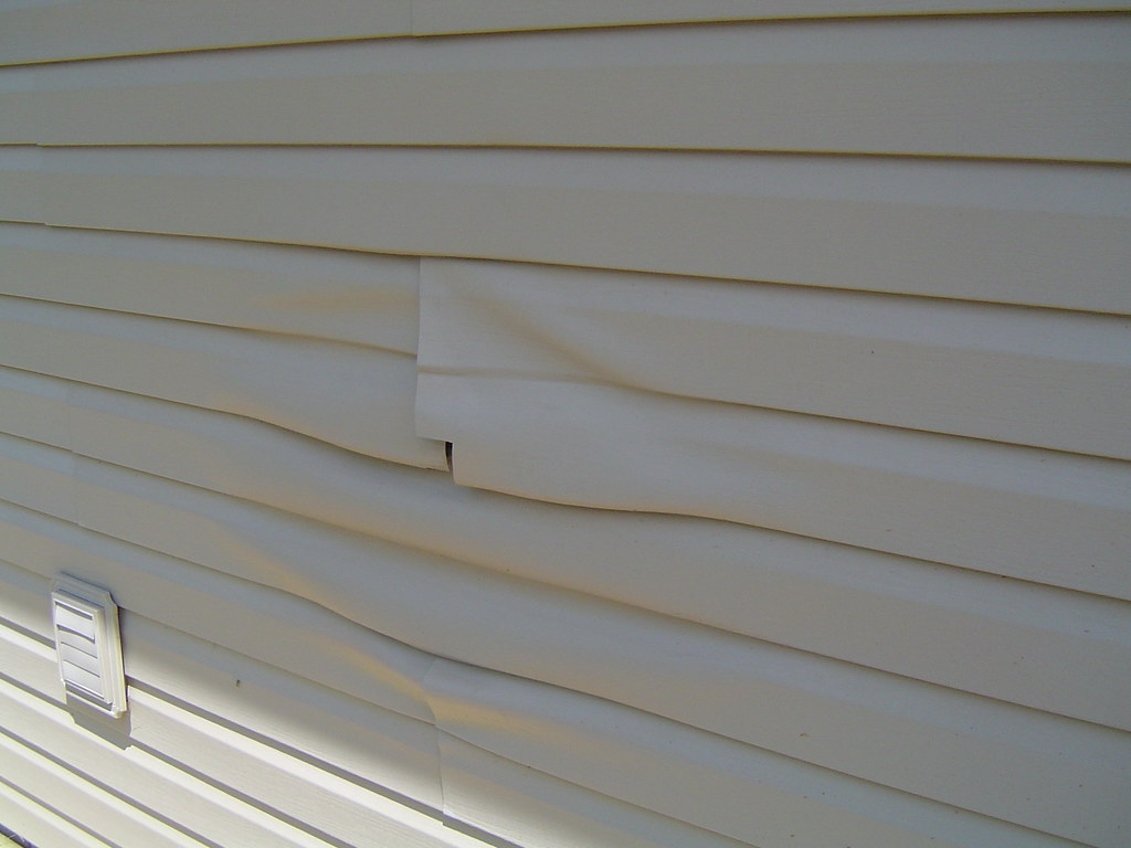 Warped Siding  So this is what happens when you put the