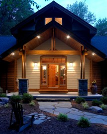 Entry Lindal Cedar Home In Jersey