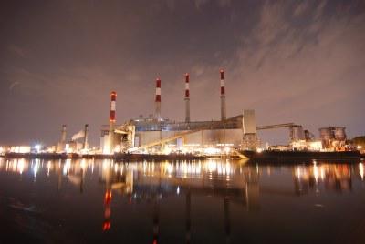 The Big Alice Con Edison Power Plant in Long Island City ...