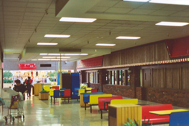 Mountaineer Mall interior Morgantown WV  The