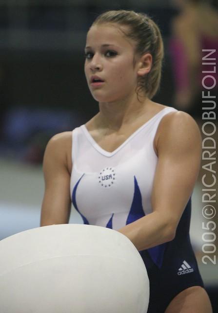 Alicia Sacramone  USA  Pre PAN RIO 2005  Ricardo