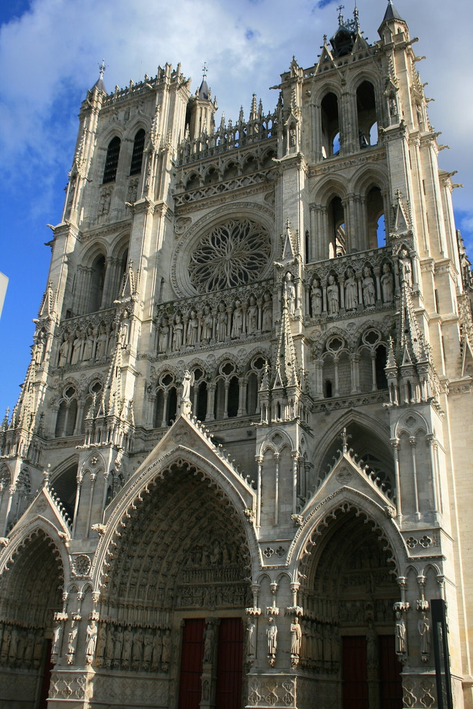 Amiens Cathedral  Amiens Cathedral France  Robert Lesser  Flickr