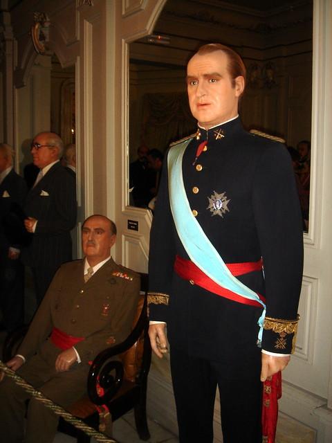 Francisco Francolinks und Juan Carlos I rechts  Flickr