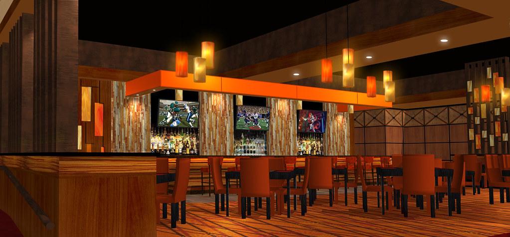 Bar  Lounge Design  3D Lounge Rendering  Bar Decor Desi