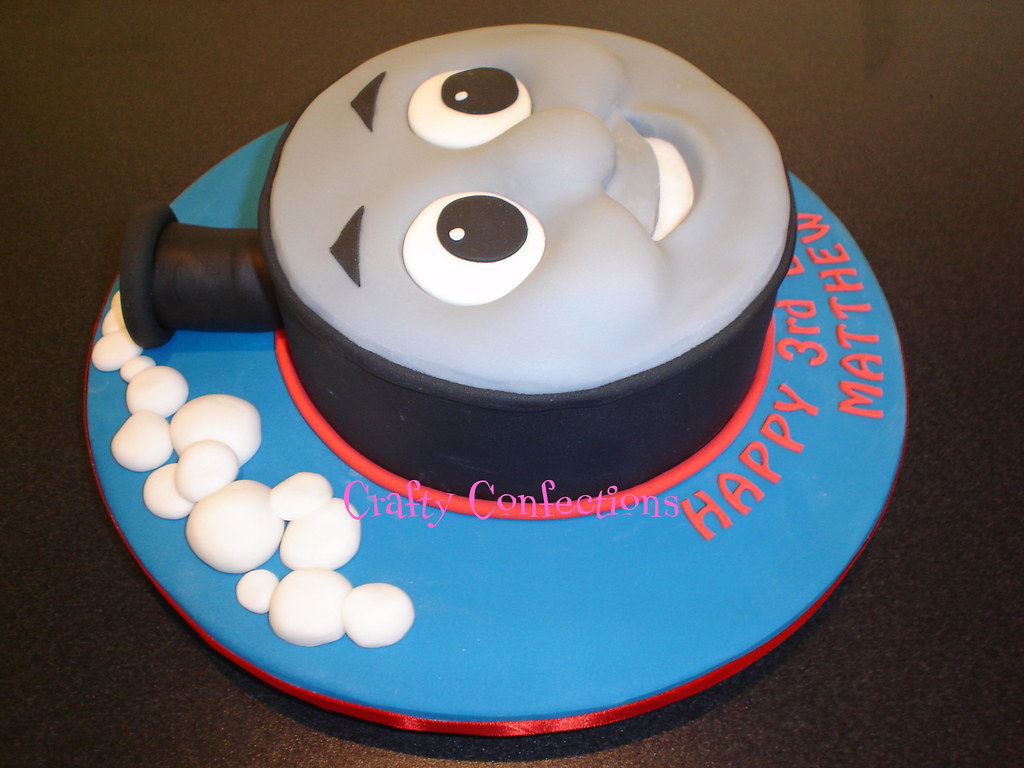 Side View Of Thomas Cake