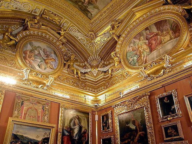 Interior Galera Palatina  Palacio Pitti  www