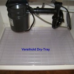 3 In 1 Kitchen Industrial Faucets Under The Sink Dry Tray Fits Standard 36