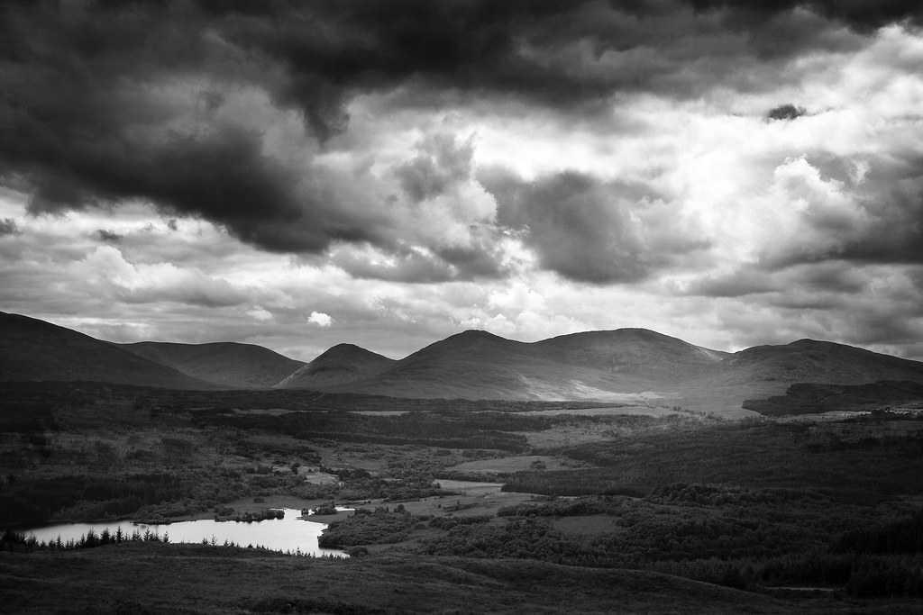 Scotland Dark mountains  gatogatogato  Flickr
