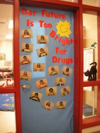 Door Decorations for Red Ribbon Week | Our Future Is Too ...