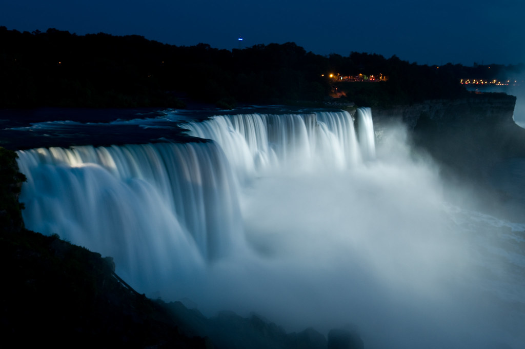 World Best 3d Wallpaper Night View Of Niagara Falls Actually It S Taken From The