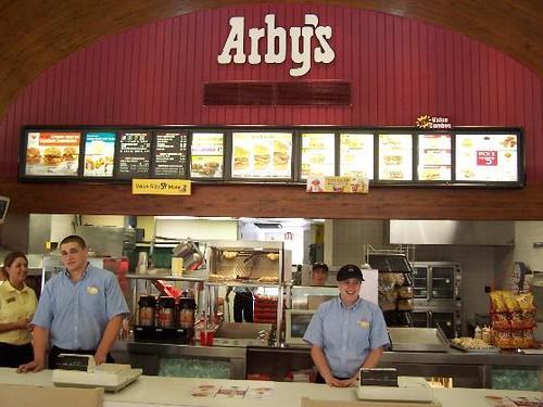 Inside Arbys  Oil City Pennsylvania  J Stephen Conn