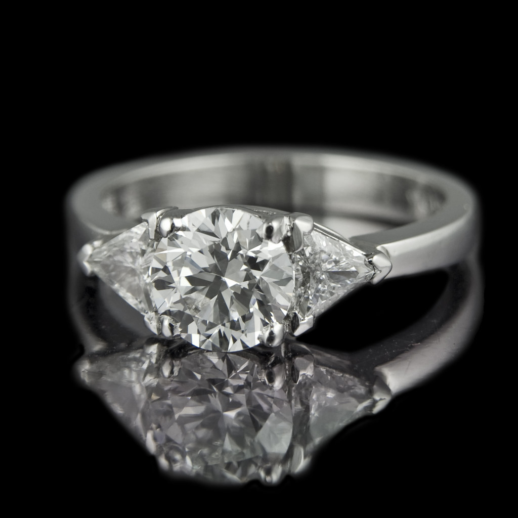 Brillianttrilliant diamond ring  One of our old favourites  Flickr