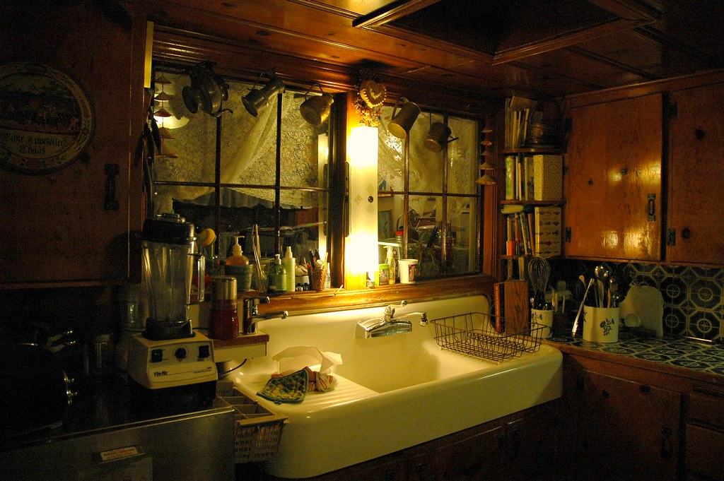 The Kitchen Sink Mill Rose Inns cozy kitchen Half Moon   Flickr