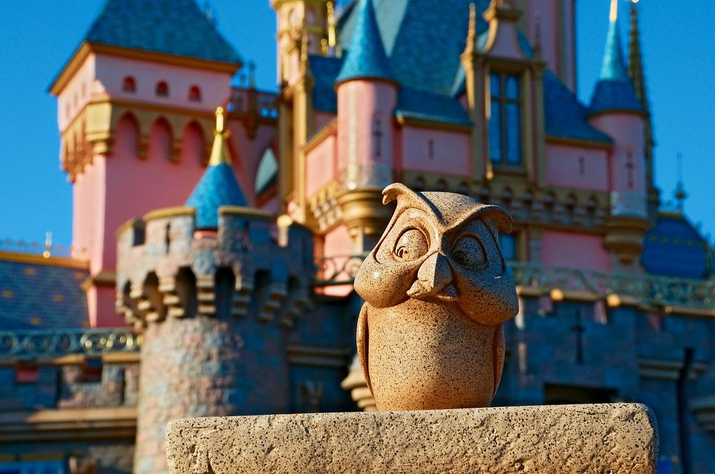 Disney  Archimedes  Sleeping Beauty Castle  Looks Best La  Flickr