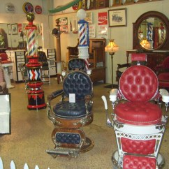 White Barber Chair Uk Computer Covers Antique Poles And Chairs The Car