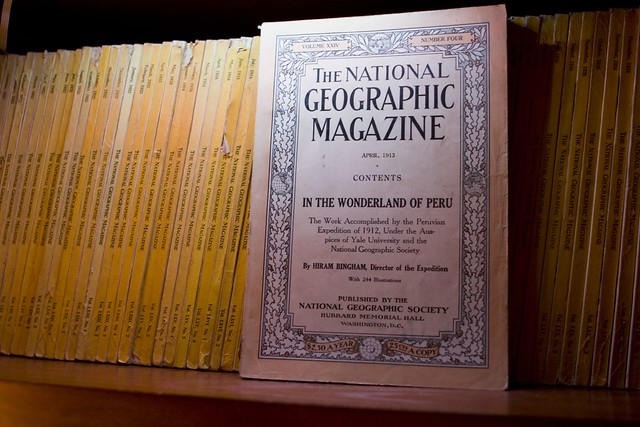 April, 1913 National Geographic  In The Wonderland Of Per