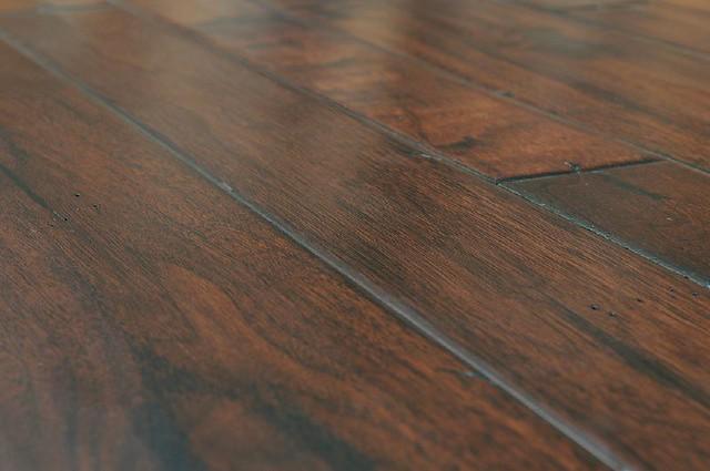 American dark walnut engineered hardwood flooring  This