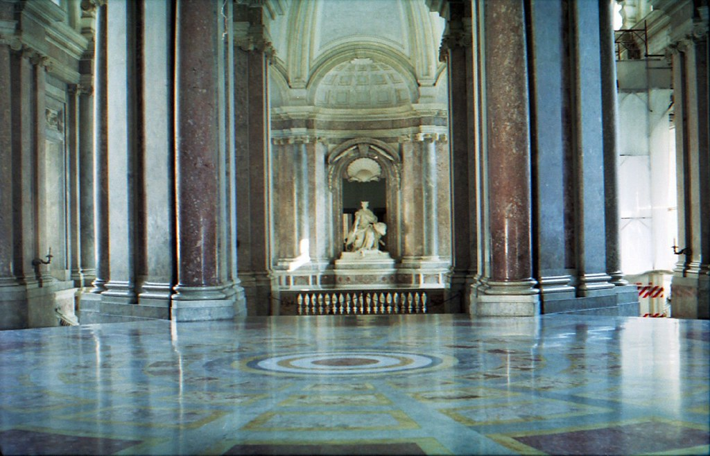 Interior Royal Palace Caserta Stephen McParlin Flickr