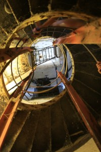 Spiral stairs in Diamond Head Bunker | Flickr - Photo Sharing!
