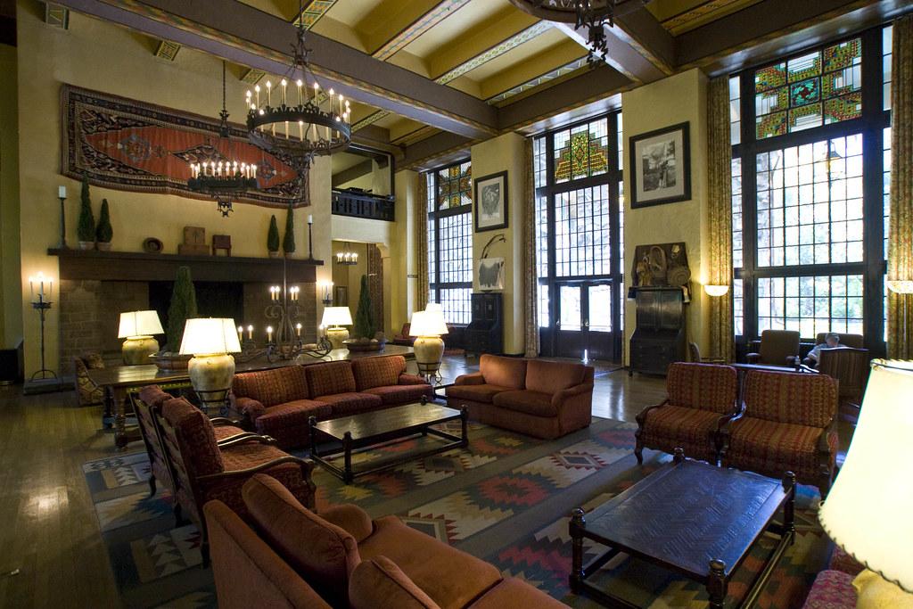 Ahwahnee Hotel Interior  Lobby of the Ahwahnee Hotel in