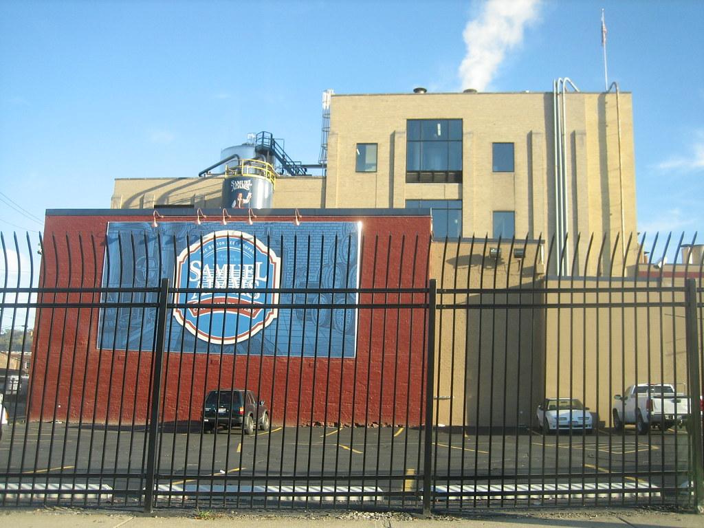Sam Adams Brewery behind bars  In 1986 the 100yearold