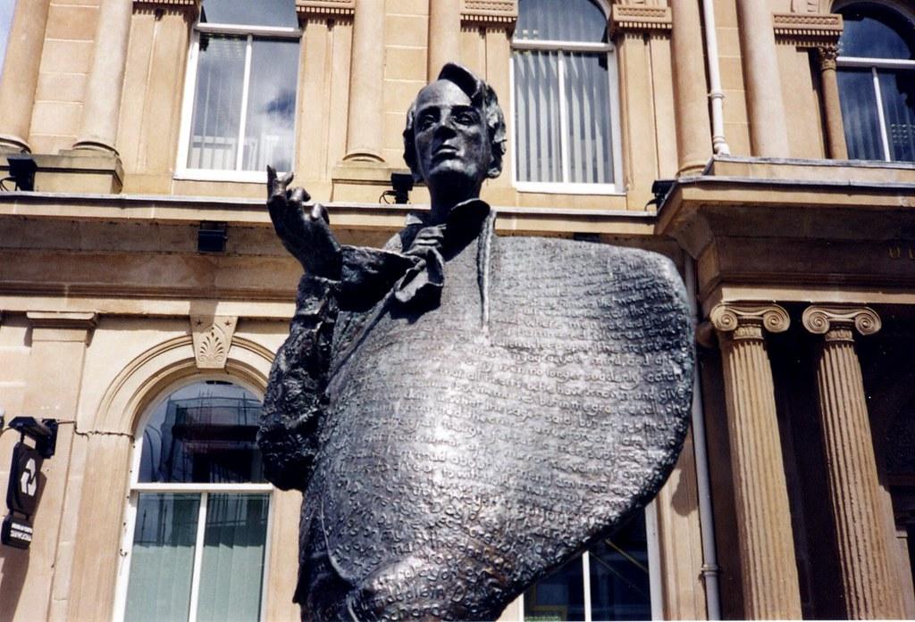 Yeats Statue Sligo Sligo Ireland Statue Of Nobel