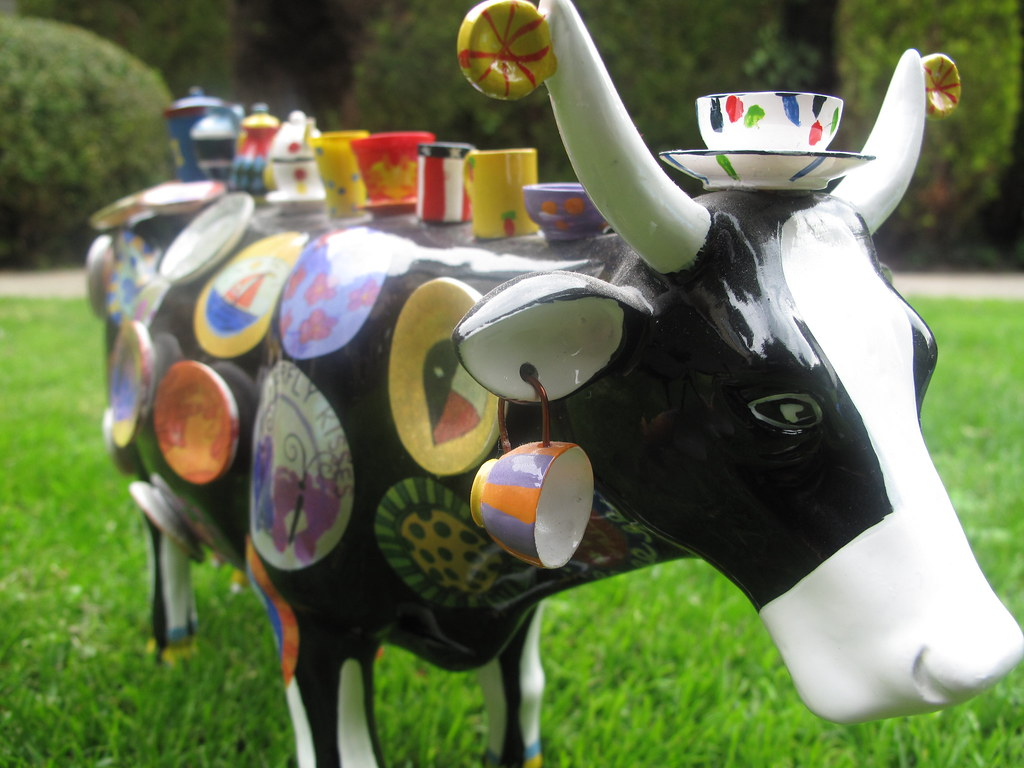 kitchen c beach cabinets teacup cow | kitchenbutterfly flickr