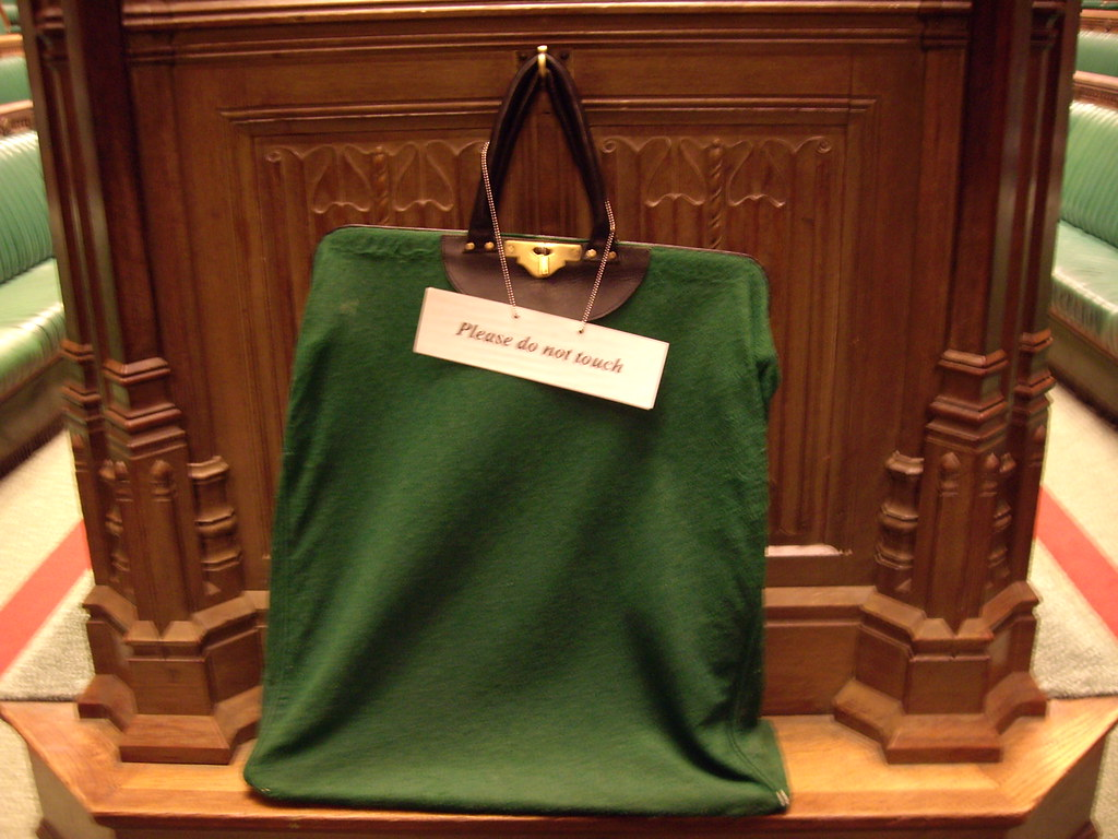 House of Commons Chamber Petition bag  All petitions