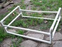 PVC Dog Bed Frame | Dog Bed made from PVC pipe. I'm ...