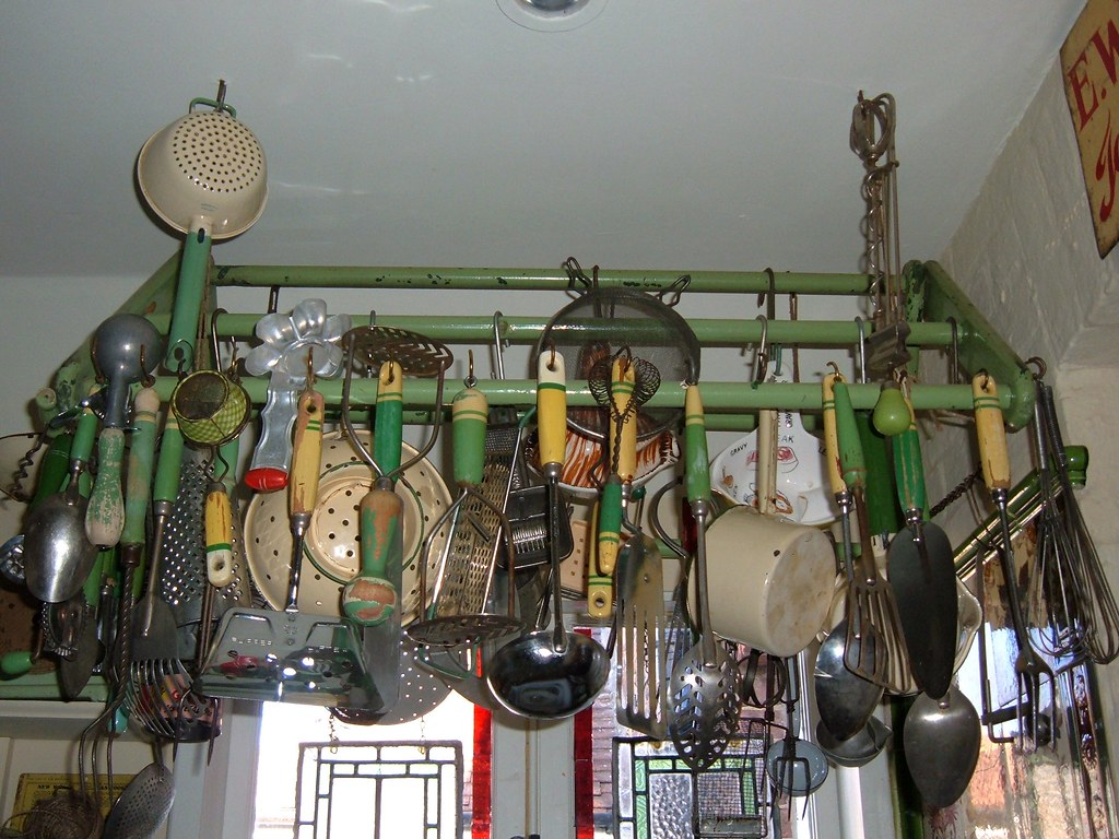 kitchen utensils store small rustic island it 39s a great space saving way to