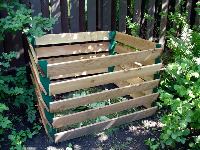 Compost Bin  I built this compost bin with some special