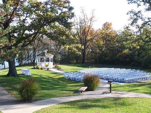 Outdoor Wedding Site at Deer Creek  Deer Creek State Park