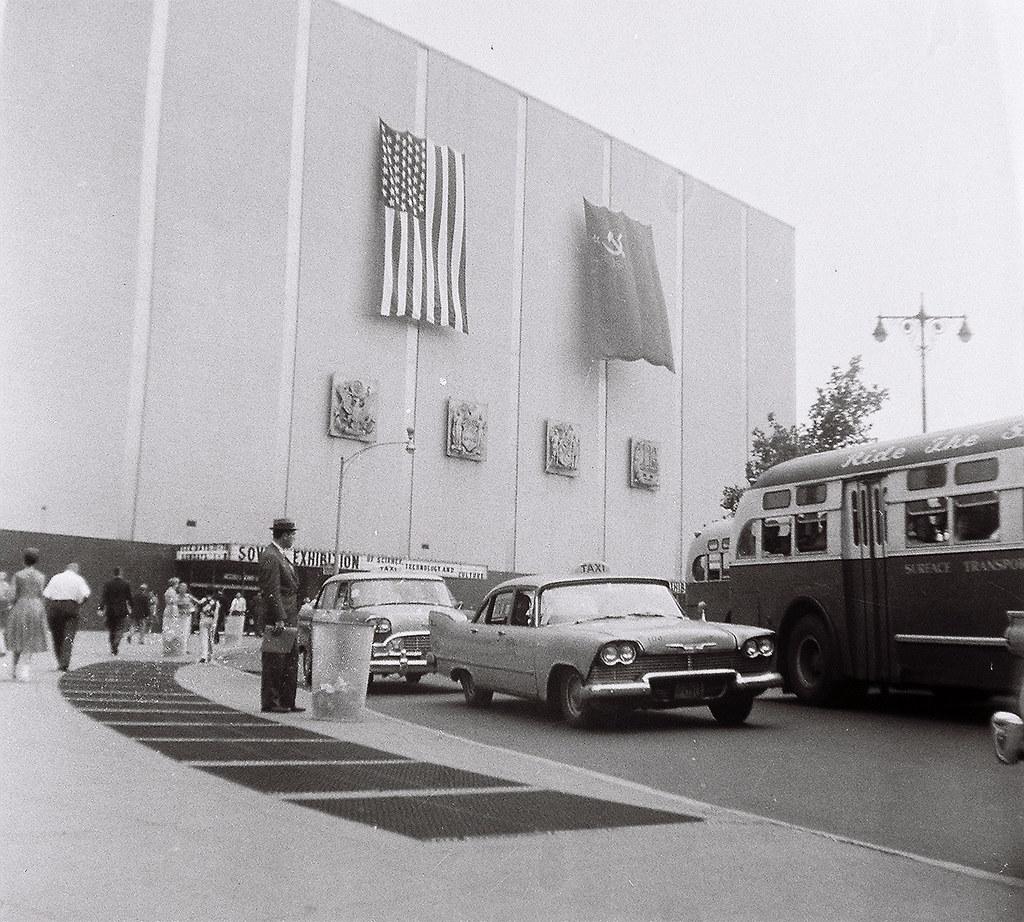 Soviet Cultural exhibit Coliseum New York City 1959