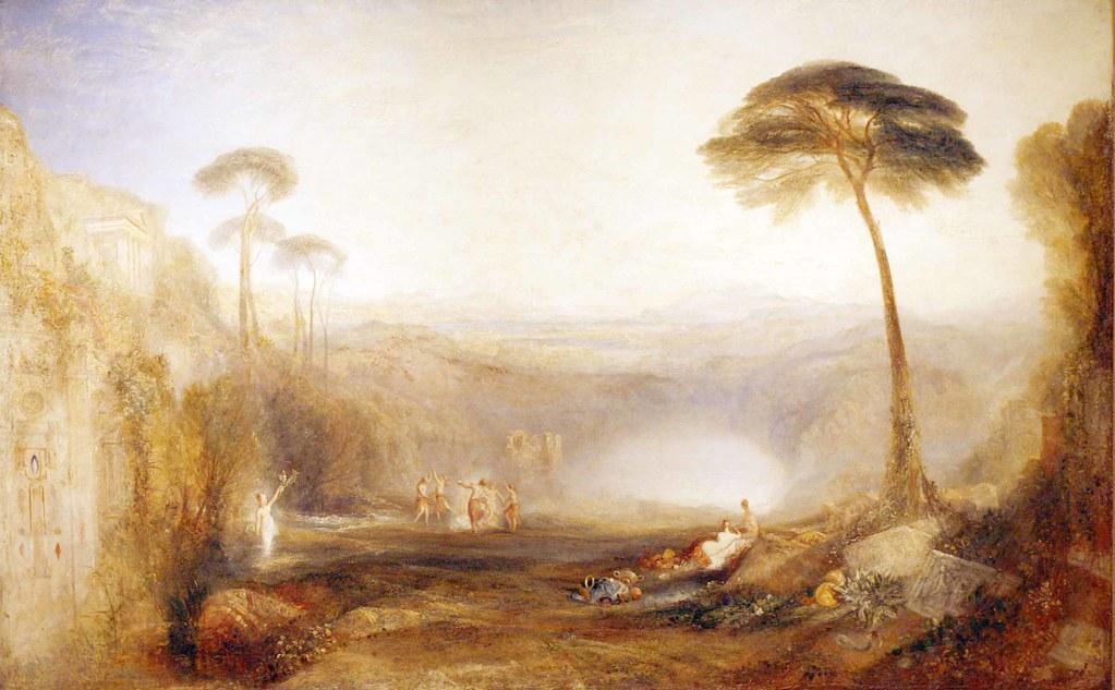 JMW Turner 1775 1851 The Golden Bough 1834 Jamie