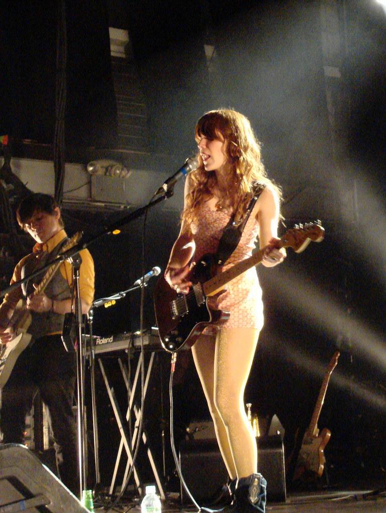 Jenny Lewis and Blake Sennett  Rilo Kiley live at