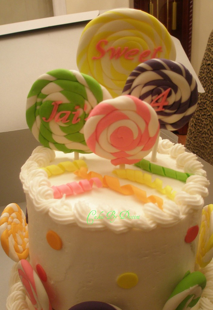 Jais Lollipop Cake  This was made for a candy shop theme b  Flickr