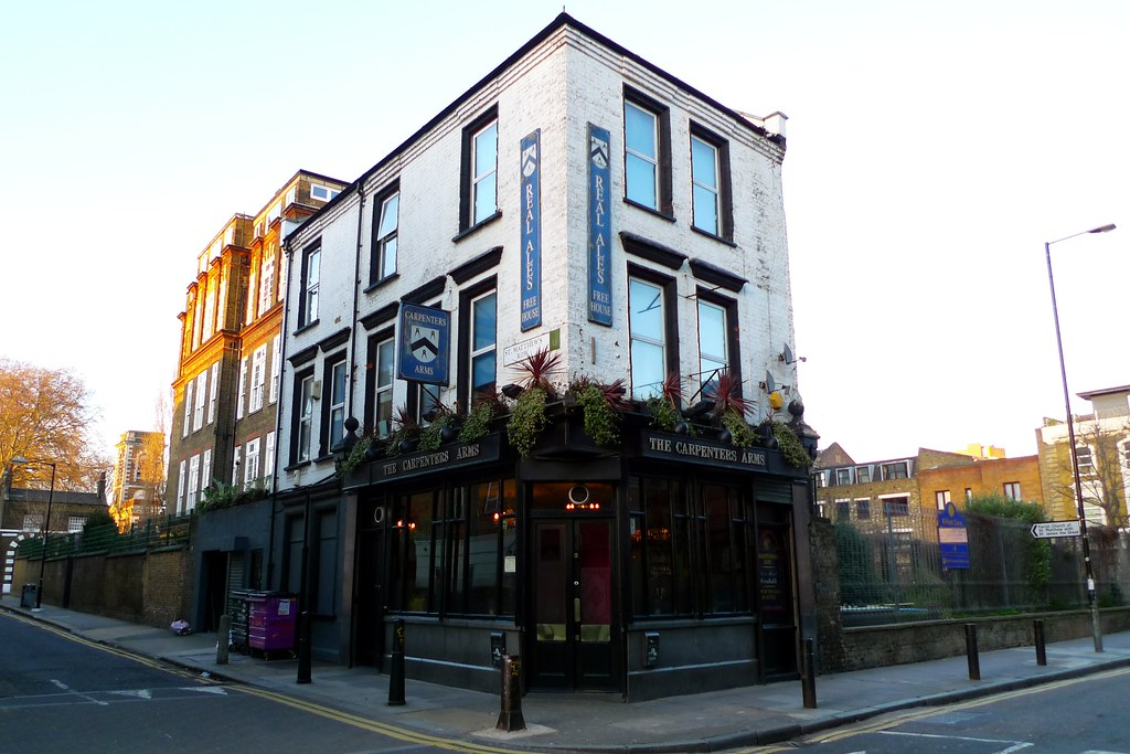 Carpenters Arms Bethnal Green E2  Lovely pub recently