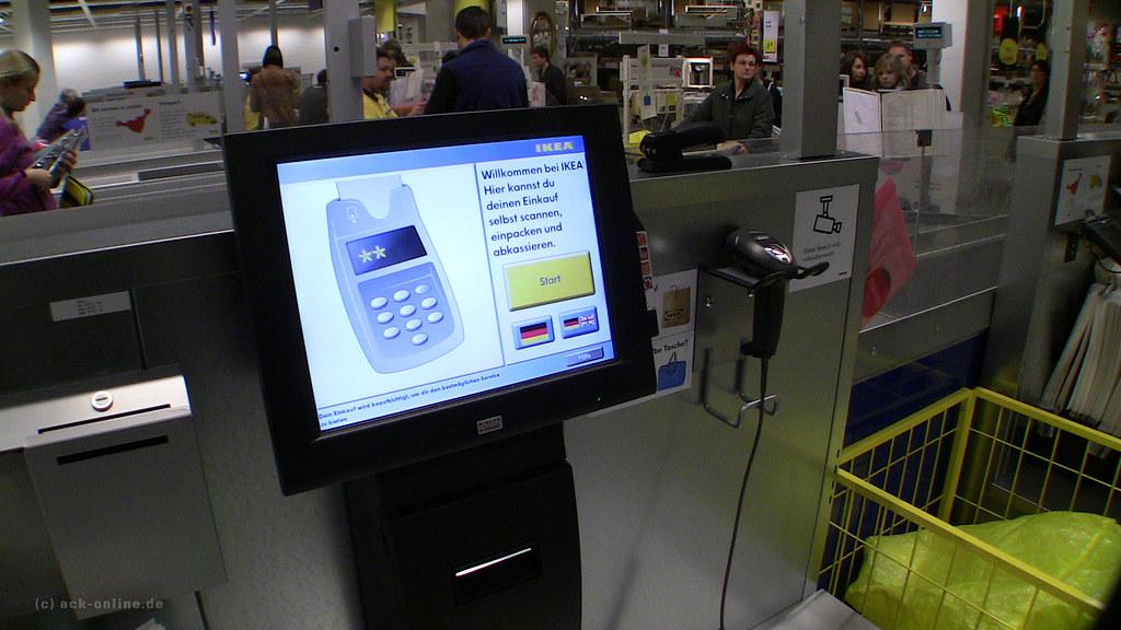 Ikea Kassel New Checkout Counter Neues Kassensystem