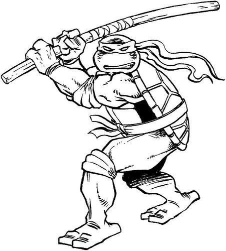 Anthrocon 2005 .. Donatello Spot illustration [[ Art by Pe