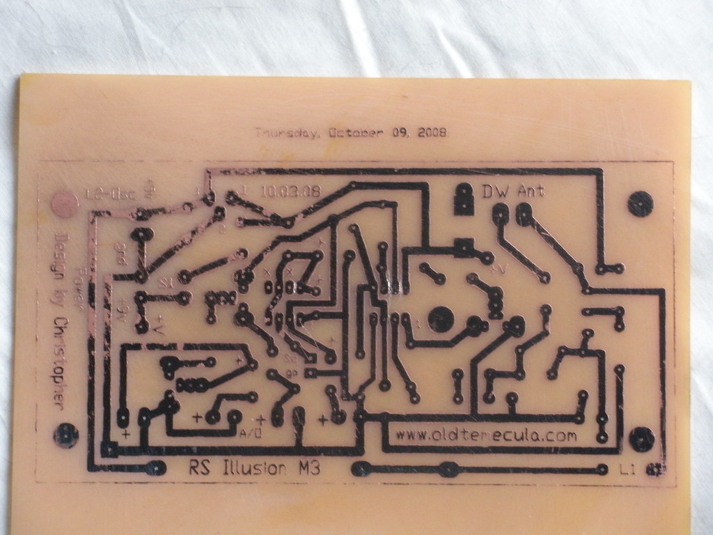 Theremin Circuit Board I Am Building A Theremin Based On T