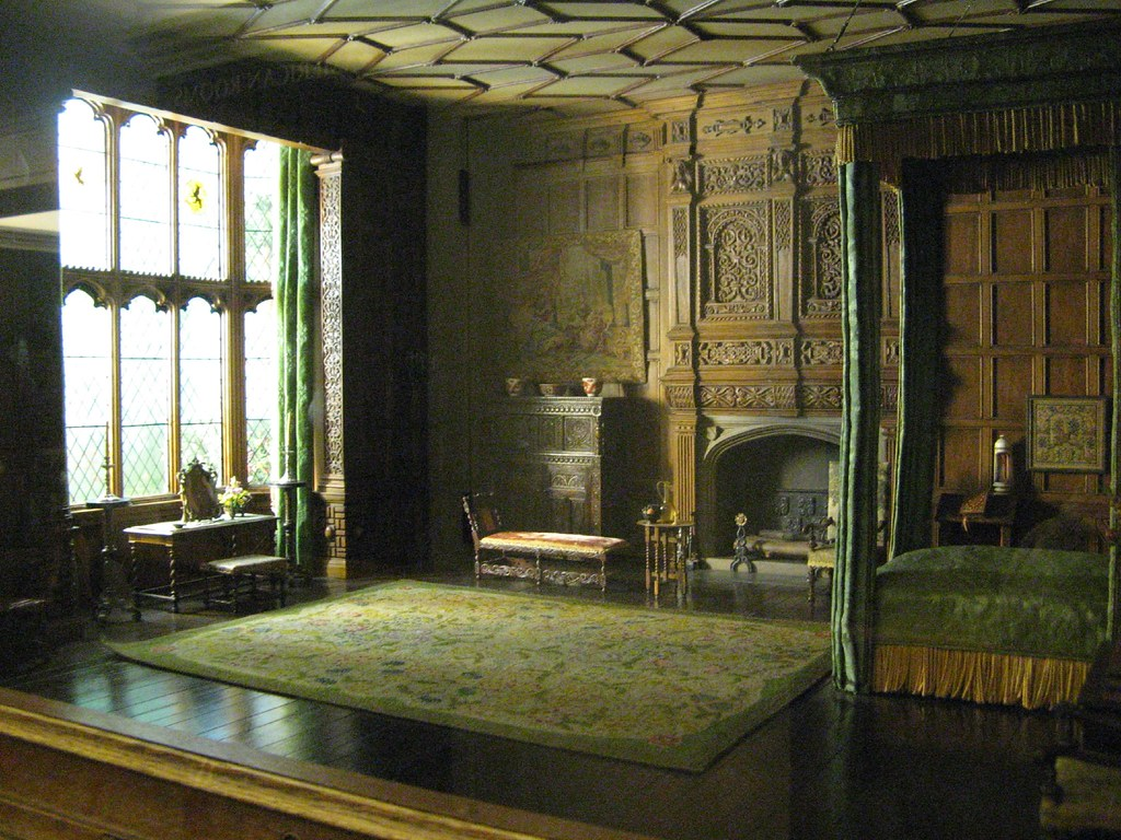English Bedchamber 16031688  This room is based on one