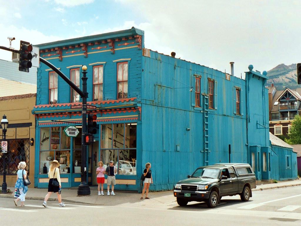 Historic Corner Building Breckenridge Colorado