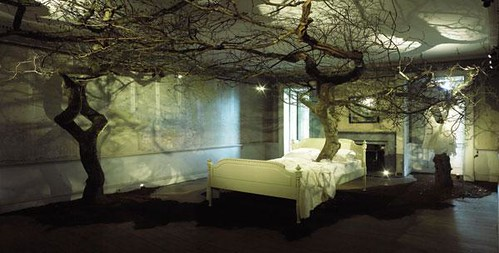 Sleeping beauty Enchanted Forest by Geraldine Pilgrim