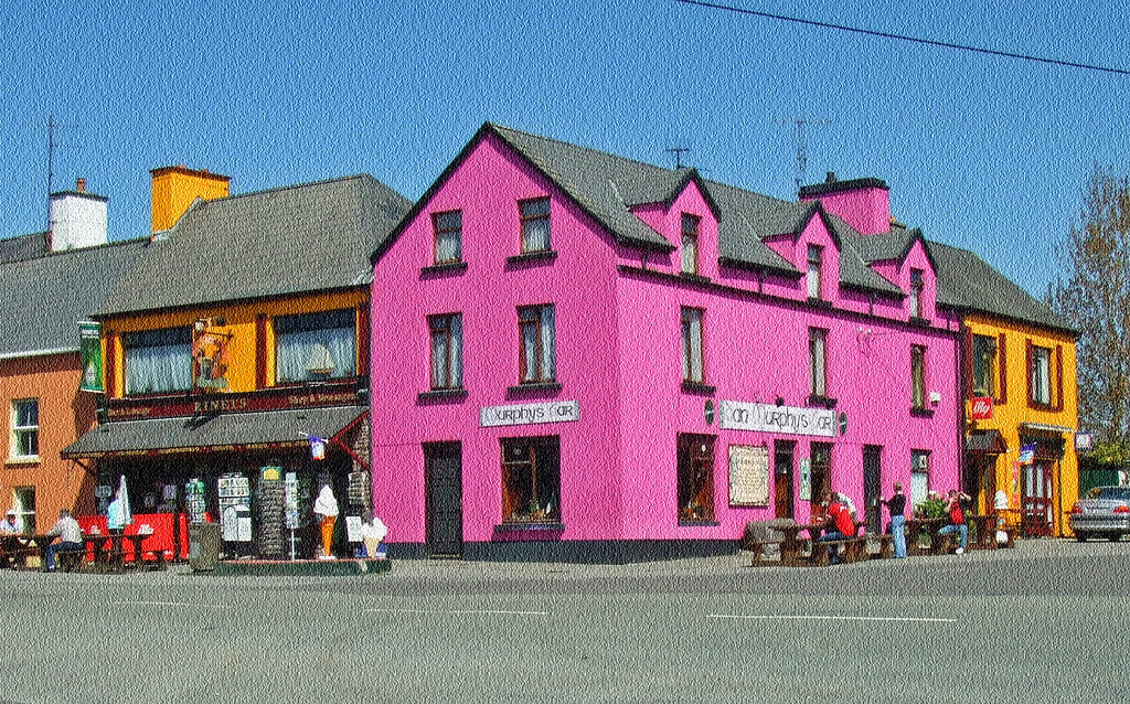 Sneem Ring Of Kerry County Kerry Republic Of Ireland
